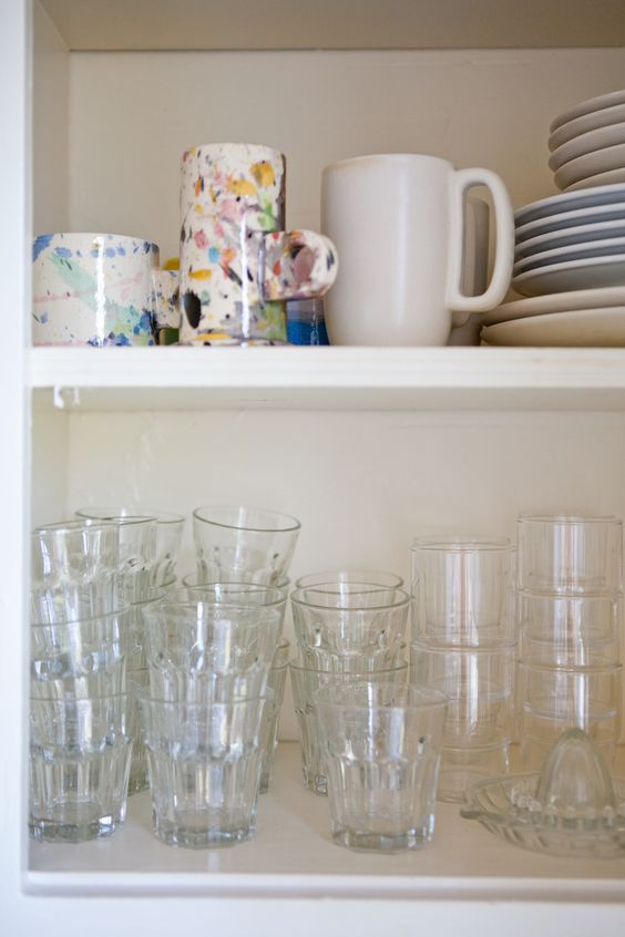 Peter Shire mugs - Claire Cottrell's Sweet Silver Lake Kitchen