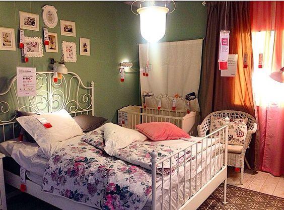 Ikea leirvik bed bedroom