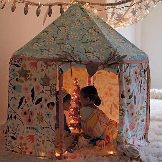 cabane en toile