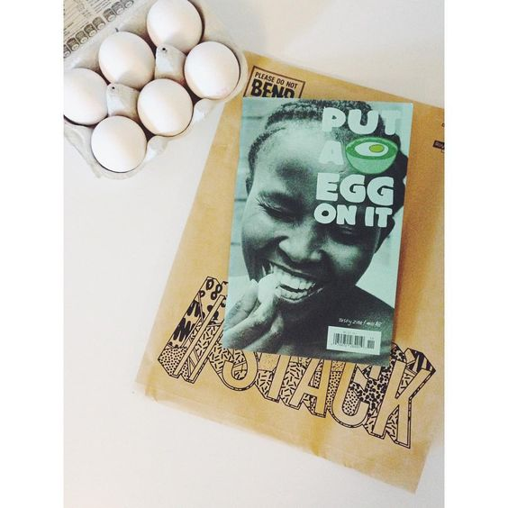 Alrighty!  #doasyouretold #putaeggonit #tastyzine #magazineofthemonth #happyreading #great #layout #design #vscocam @putaeggonit @stackmagazines