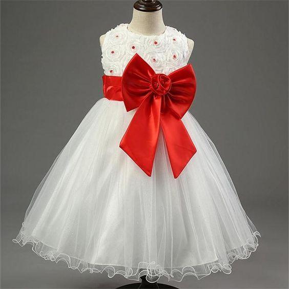 pas cher rouge de no l fille robe de mari e princesse tutu parti v nements robes pour. Black Bedroom Furniture Sets. Home Design Ideas