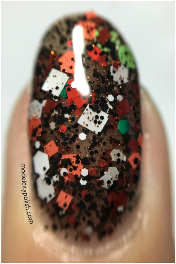 """Mr. Hankey"" Every Party Needs A Pooper by SuperChic Lacquer"