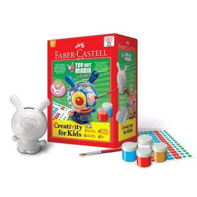 Os melhores brinquedos criativos da Faber Castell Creativity for kids Toy Art Mania Cofrinho Brinquedo Criativo