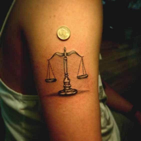 Libra Tattoos Waage Tattoo Tattoo Sternzeichen