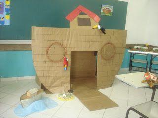 Idéias & Moldes: A grande arca de Noé                              …