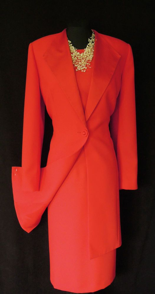 Ladies Dress And Jacket Sets - Coat Nj