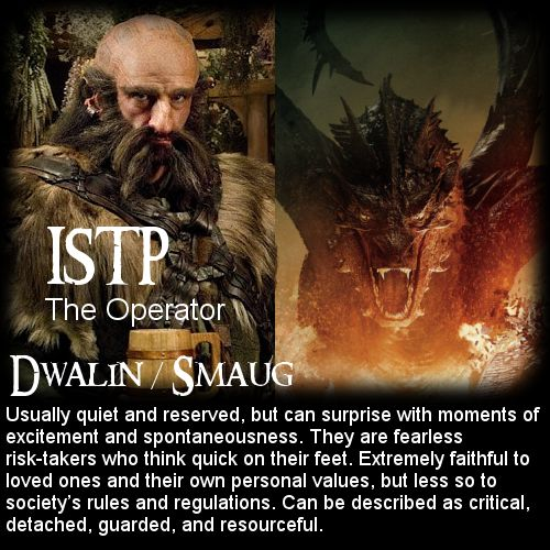 The Hobbit: Battle of the 16 Personalities - Dwalin ...