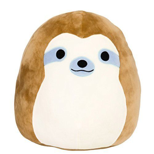 Kellytoy Squishmallow 8 Inch Hans the Hedgehog Super Soft Plush Toy