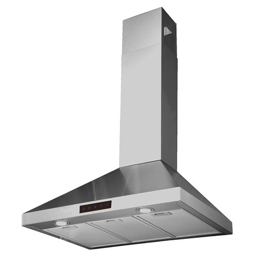 10 Kitchen Bath Collection Stl75 Led Stainless Steel Wall Mounted Kitchen Range Hood Stainless Steel Range Hood Stainless Steel Range Range Hoods