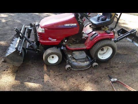 Diy Tractor Bucket Scoop Youtube With Images