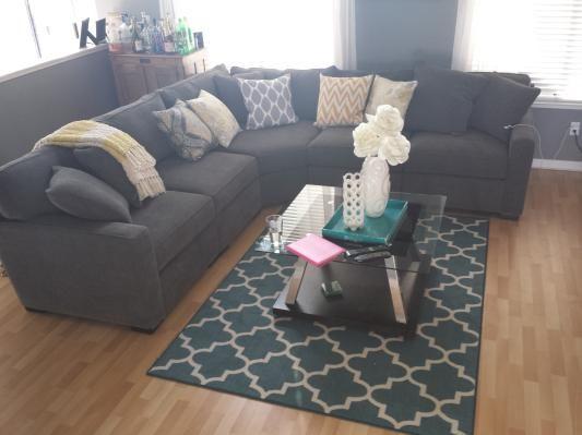 St. Henri Leather Corner Lounge   Lounges   Living Room   Furniture,  Outdoor U0026 BBQs | Harvey Norman Australia | New House Decorating Ideas |  Pinterest ...
