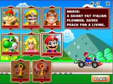 Super Mario Racing Pc Longplay As Yoshi Mario Video Game Games To Play Mario