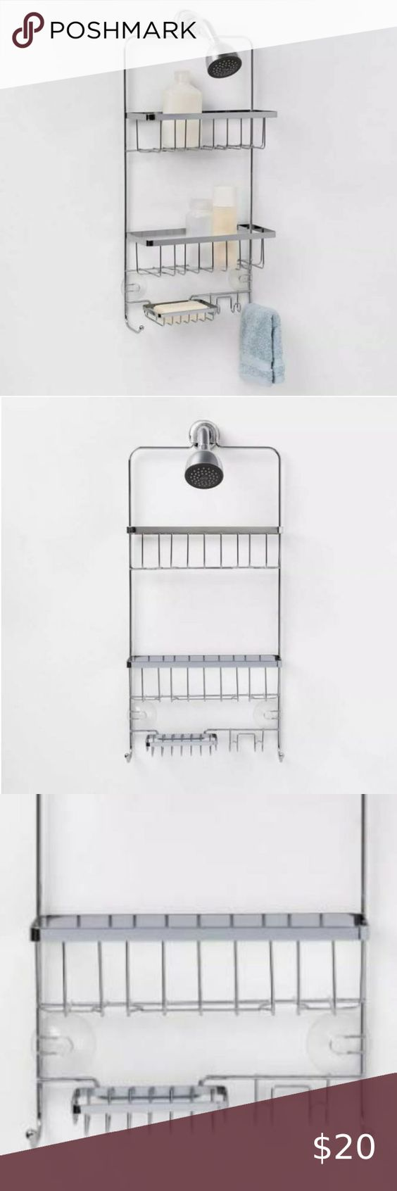 New Bathroom Shower Caddy Made By Design Boutique In 2020 With Images Hanging Shower Caddy Shower Caddy Bathroom Shower