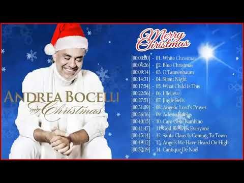 Andrea Bocelli Christmas Album 2020 Andrea Bocelli Christmas Songs Album 2018 | The Most Popular