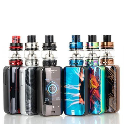 Vaporesso Luxe S 220w Starter Kit With Skrr S Tank Vape Starter Kit Starter Kit Box Mods
