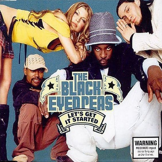 The Black Eyed Peas – Let's Get Retarded (single cover art)