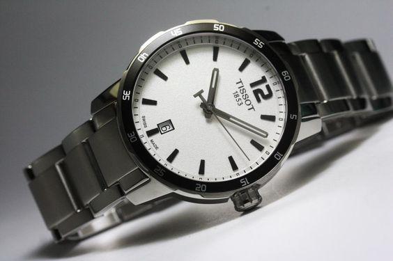 スイス製Tissot【ティソ】Quickster【クィックスター】クォーツ腕時計/100m防水/メンズウォッチ/正規代理店商品