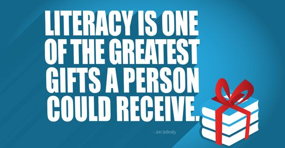December literacy quote