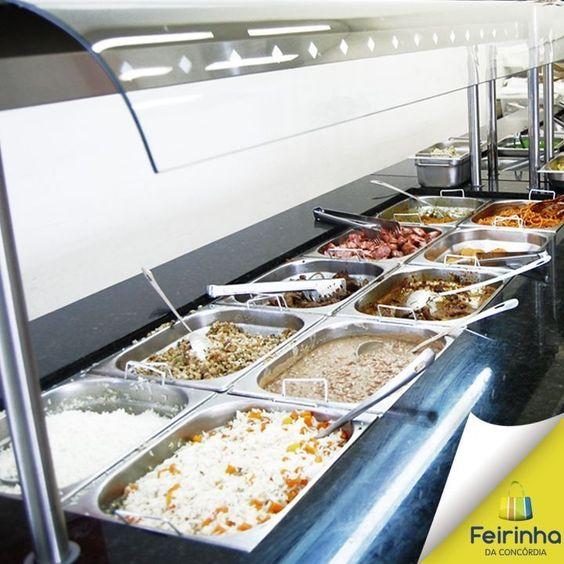 Opa! Que horas são? Hora do almoço! Venha fazer o seu prato aqui no Tempero Self-Service!   #almoço #fome #alimentação #melhorhoradodia #feirinhadaconcórdia