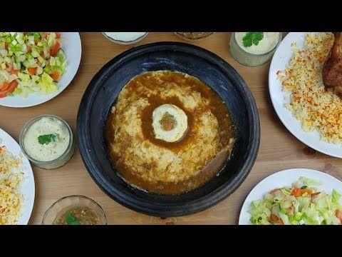 طريقة عمل الهريش اليمنيه الملبنه Yemeni Aseed Youtube Yemeni Food Food Arabic Food