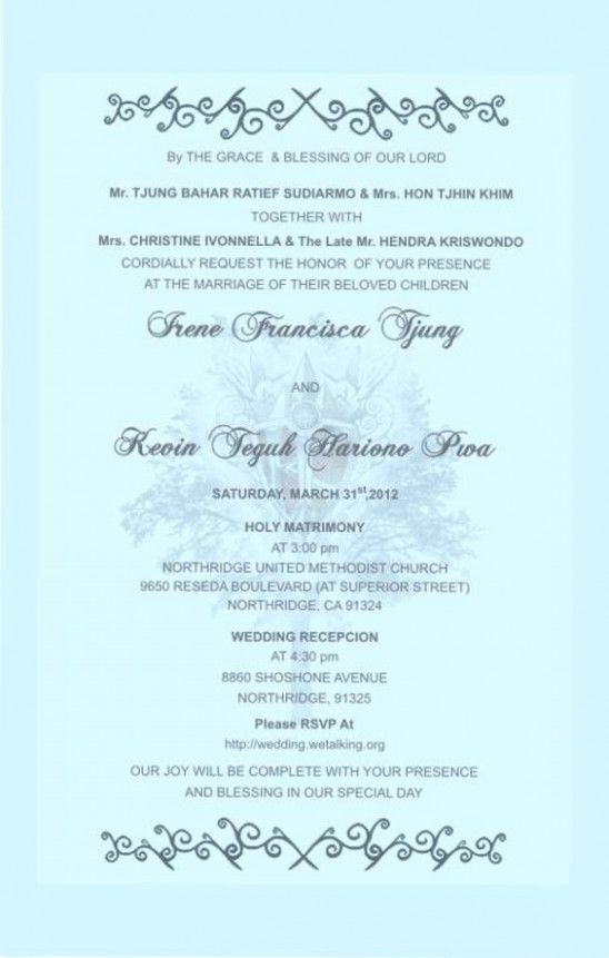 Five Things To Know About Invitation Cards Samples Wedding Invitati Christian Wedding Invitations Hindu Wedding Invitation Cards Catholic Wedding Invitations