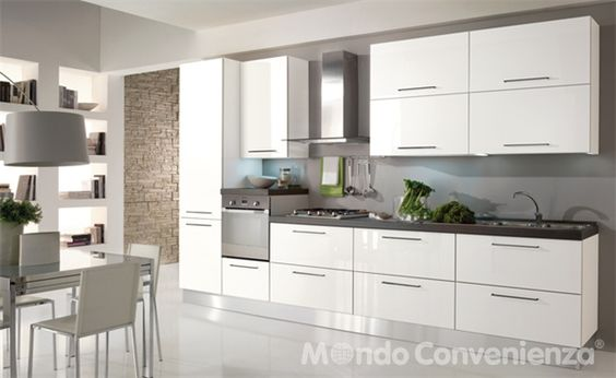 Cucina Seventy - Mondo Convenienza   home   Pinterest   Inspiration