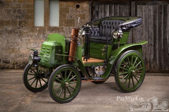 Benz Ideal 7hp Twin Cylinder Contra Motor  1901 for sale