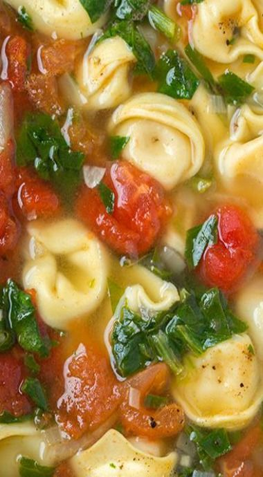 ... tortellini and more spinach tortellini garlic tortellini soup tomatoes