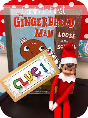 Gingerbread, Hunt's and Scavenger hunts on Pinterest