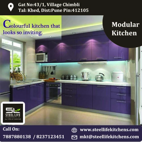 Make Your Kitchen More Beautiful With Steel Life Kitchens For