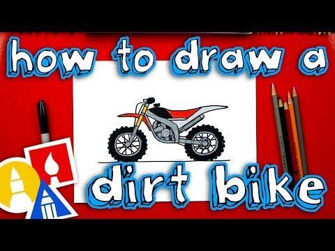 11 How To Draw A Dirt Bike Youtube Bike Drawing Drawings