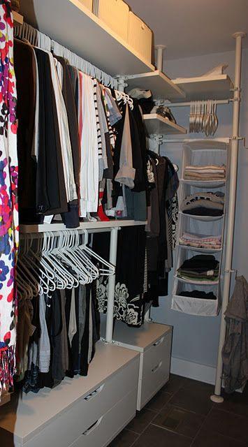 ikea stolmen closet system closet pinterest closet system closet and ikea. Black Bedroom Furniture Sets. Home Design Ideas