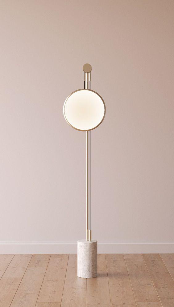 INDIRECT LIGHT METAL FLOOR LAMP SOLEDAD ROCHE BOBOIS Lighting Pinterest