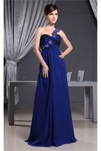 Floor-Length Chiffon One Shoulder Bridesmaid Dress http://www.GracefulDress.com/Floor-Length-Chiffon-One-Shoulder-Bridesmaid-Dress-p19362.html