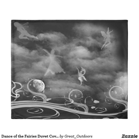 Dance of the Fairies Duvet Cover
