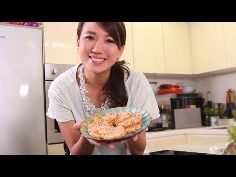 日日煮烹飪短片 - 芝麻南瓜餅 Sesame Pumpkin Cake - YouTube