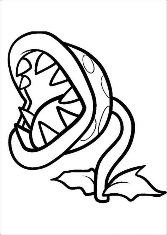 Ausmalbild super mario bros super mario bros super for Super mario 64 coloring pages