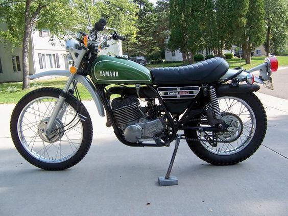 1974 yamaha 360 enduro i rode this on the fire breaks of for Yamaha 360 enduro