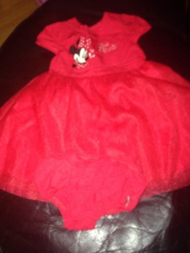Red #minnie mouse #dress 3-6 #months,  View more on the LINK: 	http://www.zeppy.io/product/gb/2/121889275048/