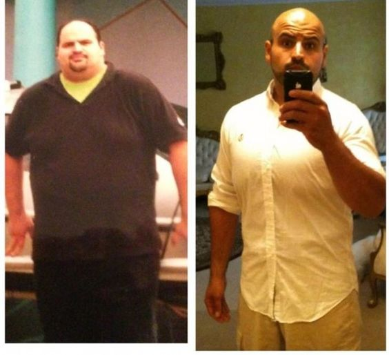 """John is a member of my Low Carb Challenge Group and he is constantly amazing us with inspiring pictures & weight loss motivation with his posts in the group! He gave me permission to share his """"before and after weight loss"""" photo with you here, along with a recent story of falling off the wagon…"""