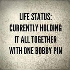 Bobby pins are how women claim their territory. If you doubt this just wait till you find a bobby pin that isn't yours in a place you frequent