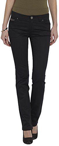 Morgan - Pantalon - Droit - Femme - Noir (Black) -  FR…