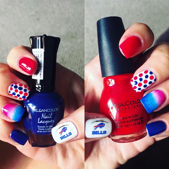 Buffalo Bills Nails