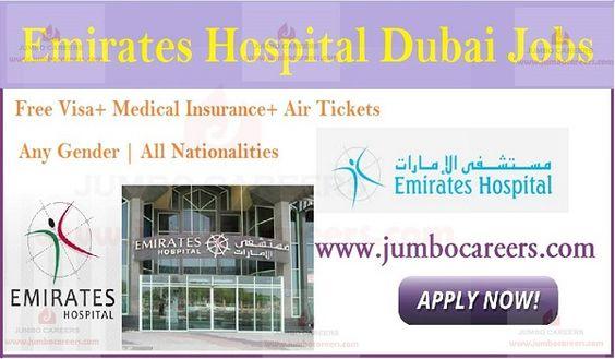 Emirates Hospital Hiring Experienced Staff For Dubai Hospital