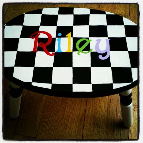 a little throw back... checkerboard fun!