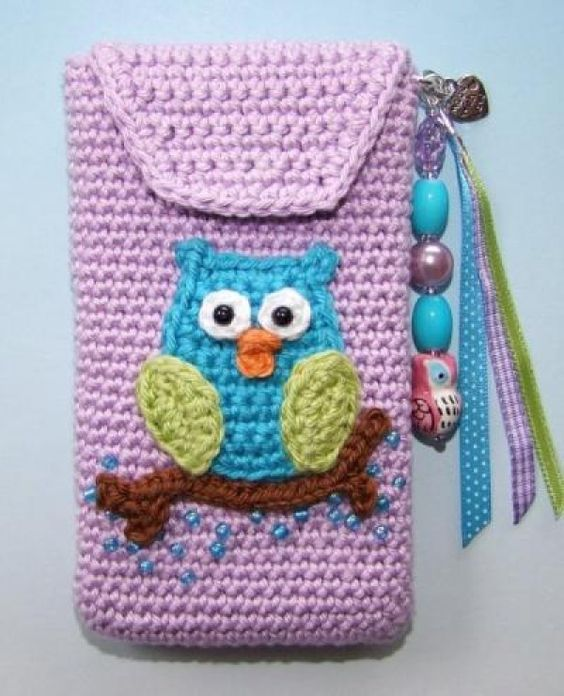 owl cell phone holder