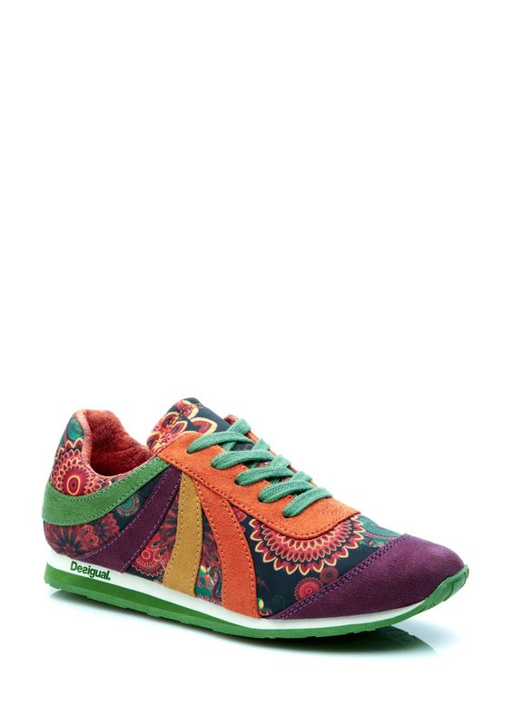 Desigual sneaker for fall