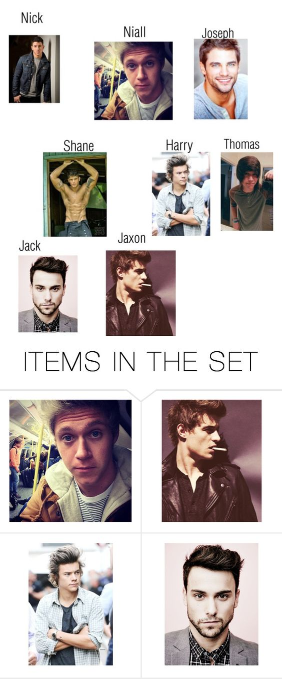 """""""Single guys! (I'll tag you in their intro if you want)"""" by anons-and-i ❤ liked on Polyvore featuring art and AnonsandIBoys"""
