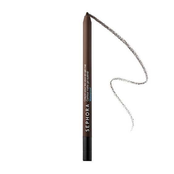 When lining the bottom and top lash line, only line the outer 2/3. Enclosing the entire rim only makes your eyes look smaller. Tip: add a shimmery champagne color in the corners to further enhance them.