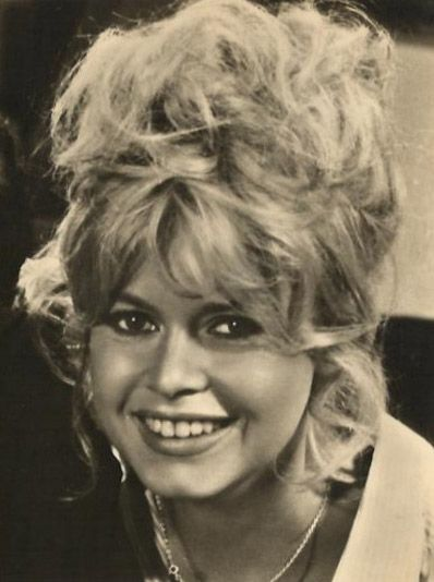 Brigitte Bardot on the set of Vie Privee, 1961.